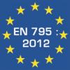 Alle VERTIC Produkte sind schon gemäβ der neuen EN 795 : 2012 Normierung zertifiziert.